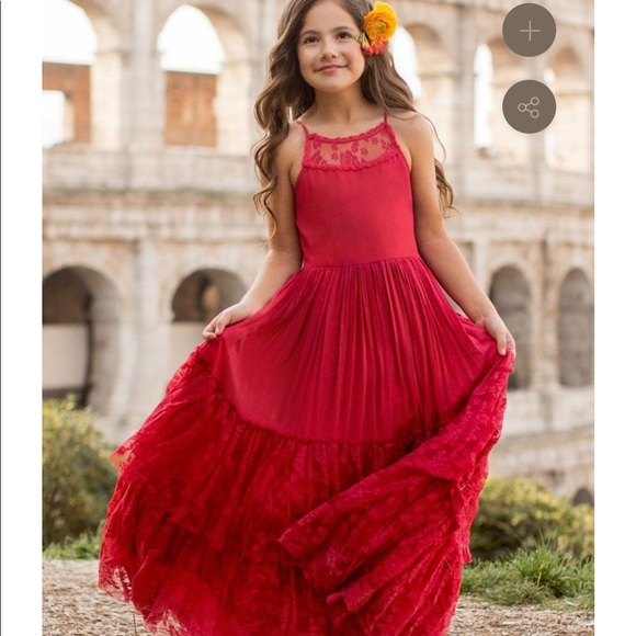 NWT Girl's Joyfolie Leah Dress Girls Size 8